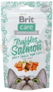BRIT CARE CAT SNACK MEATY SALMON 50 G